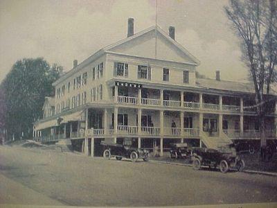 The Leland House There Was Ondawa Hotel Where Present Day S Is Located Built By Josiah Rawson First Called Schroon Lake
