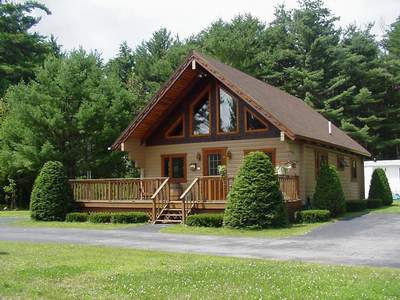 Log Homes In The Adirondacks